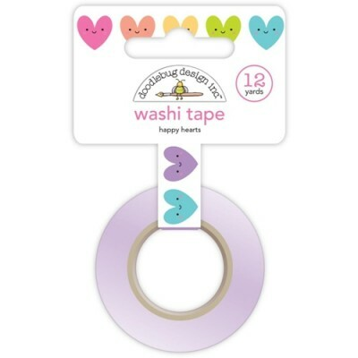 Washi Tape - Happy Hearts