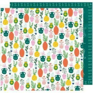 Papel Star Gaze - Green Thumb - 180gr 30,5x30,5