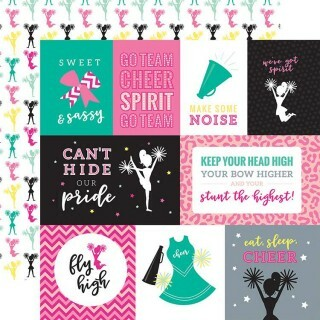 Papel Cheer - Journaling Cards - 180gr 30,5x30,5