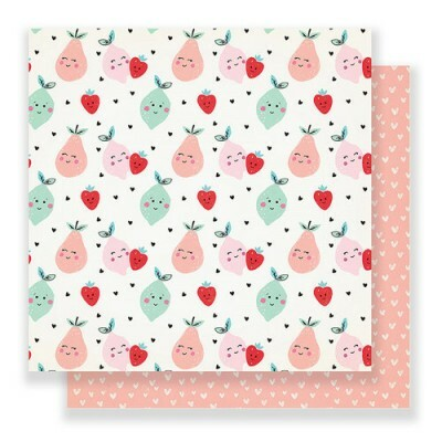Papel Cute Pear - Main Squeeze - 30,5x30,5