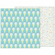 Papel Srpinkles on Top - Happy Hooray - 30,5x30,5