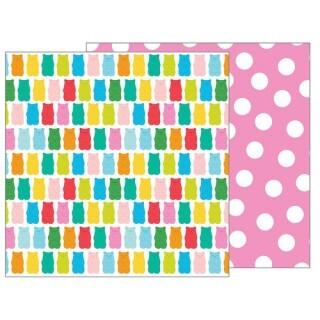 Papel Beary Sweet - Happy Hooray - 30,5x30,5