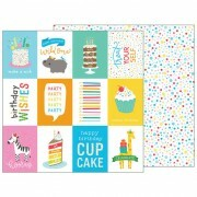 Papel Birthday Wishes - Happy Hooray - 30,5x30,5