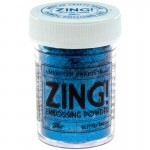 Pó para Emboss - Zing Metallic Embossing Powder - Blue