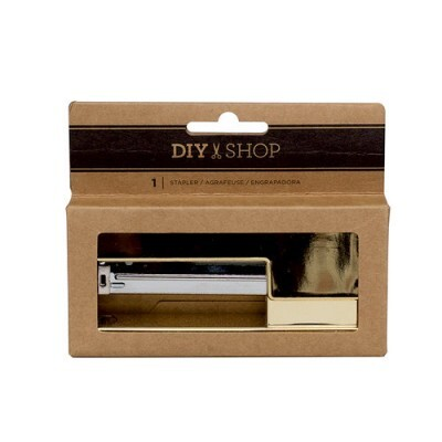 Grampeador DIY & Shop American Crafts - Gold