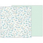 Papel Gone Fishing - Pebbles - Night Night Collection - 30,5x30,5