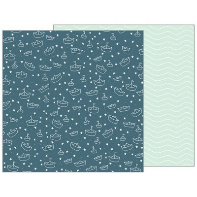 Papel Sail Away - Pebbles - Night Night Collection - 30,5x30,5