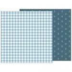 Papel Blue Blankie - Pebbles - Night Night Collection - 30,5x30,5
