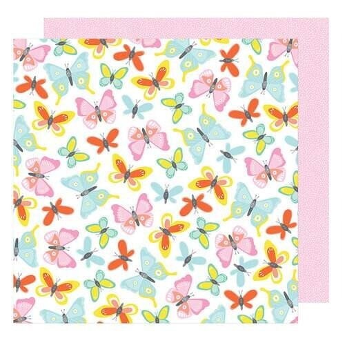 Papel Farrah Forever - American Crafts - Stay Colorful Collection - 30,5x30,5