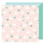 Papel Zooky Zooky - American Crafts - Stay Colorful Collection - 30,5x30,5