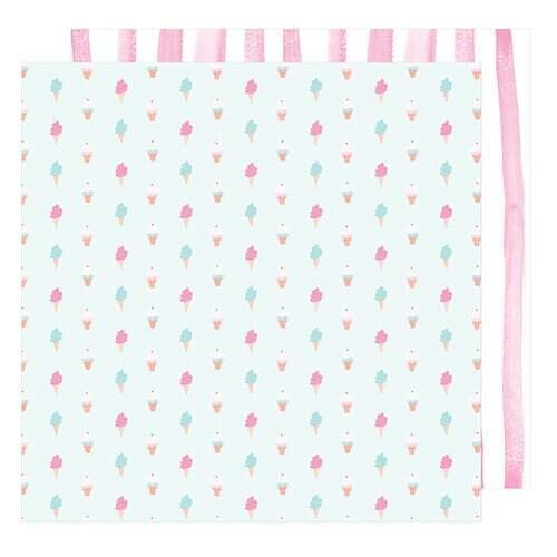 Papel Sweetness - American Crafts - Stay Colorful Collection - 30,5x30,5