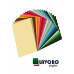 Papel Color Plus 180g A4 - Kit Cores Vivas - 54 Folhas