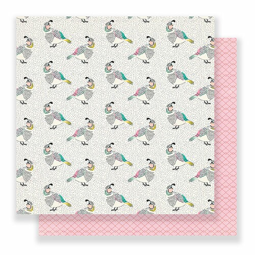 Papel Songbird - Maggie Holmes - Flourish Collection 180g 30,5x30,5