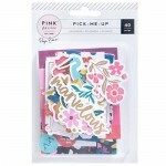 Apliques Ephemera - Pick Me Up - Pink Paislee