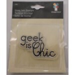 Carimbo de Silicone - Geek is Chic