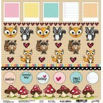 Papel #Fofurice - Goodies - #Voltamos Colection - 30,5x30,5
