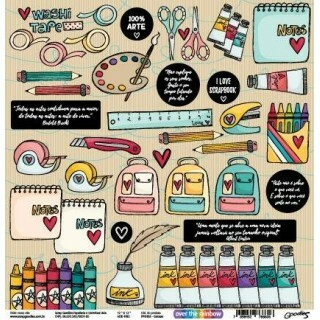 Papel Colours- Goodies - Over The Rainbow Colection - 30,5x30,5