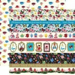 Papel Border Strips - Alice in Wonderland 30,5x30,5 - Echo Park