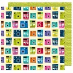 Papel Snap Shot - Box of Crayons Collection 30,5x30,5 - American Crafts