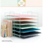Display para Folhas de Scrapbook com 06 Bandejas - Craft Office Storage