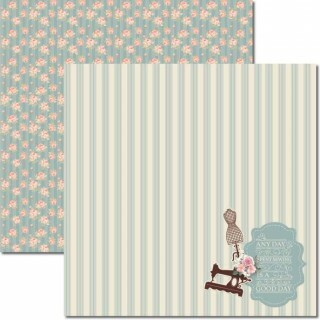 Papel Costura 3 - Katy Borges - 30,5x30,5