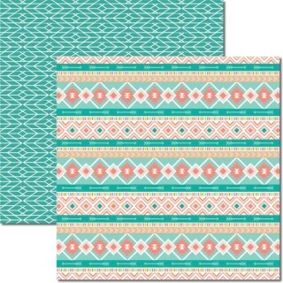Papel Tribal 5 - Katy Borges - 30,5x30,5