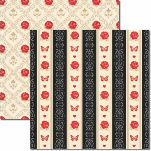 Papel Butterfly 2 - Katy Borges - 30,5x30,5