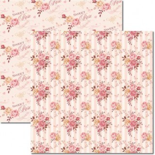 Papel Bouquet 3 - Katy Borges - 30,5x30,5