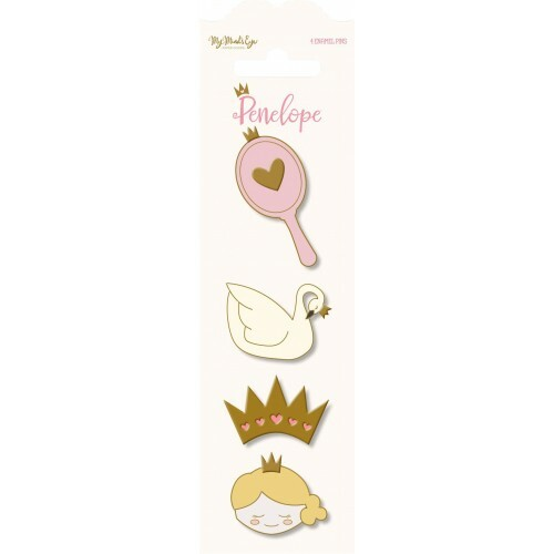 Broches Metálicos Penelope - My Minds Eye - 4 Pins