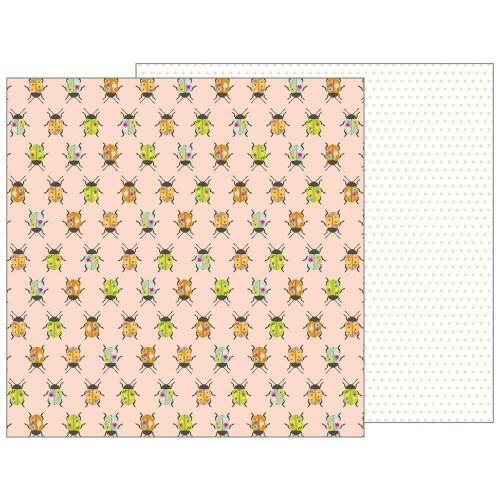 Papel Patio Party Collection - Painted Beetles - 180gr - 30,5x30,5