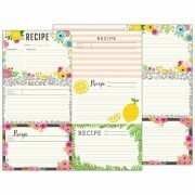 Papel Patio Party Collection - Recipe Cards - 180gr - 30,5x30,5