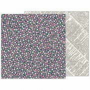 Papel Patio Party Collection - Scattered Posies - 180gr - 30,5x30,5