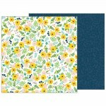 Papel Patio Party Collection - Backyard Blooms - 180gr - 30,5x30,5