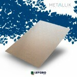 Papel Metallik para Scrapbook - Kraft Arabesco Prata 30,5 x 30,5 cm 180g - 1 Folha