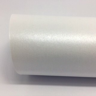 Papel Metálico Pearl White 250gr 30,5x30,5 - 12 Folhas