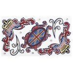 Cartela Adesivos - Union Jack Flourishes - Jolees Boutique
