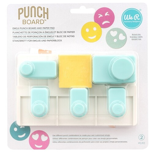 Furador Emoji Punch Board
