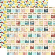 Papel Lemonade Stand - Good Day Sunshine Collection 30,5x30,5 - Echo Park