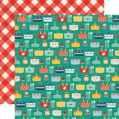 Papel Summer Picnic - Good Day Sunshine Collection 30,5x30,5 - Echo Park