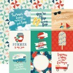 Papel 4 x 4 Journaling Cards - Good Day Sunshine Collection 30,5x30,5 - Echo Park