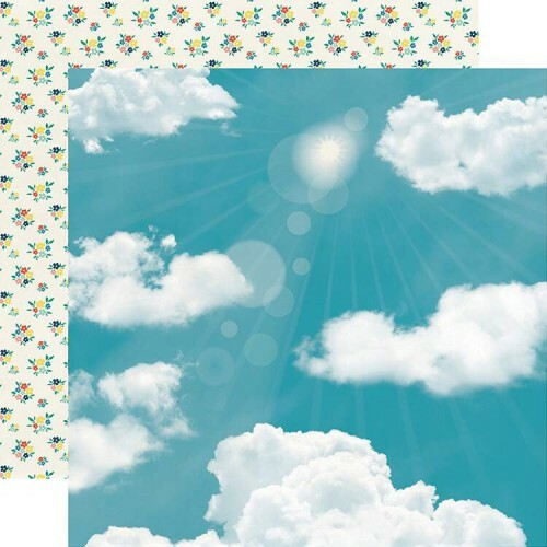 Papel Sunny Day - Good Day Sunshine Collection 30,5x30,5 - Echo Park