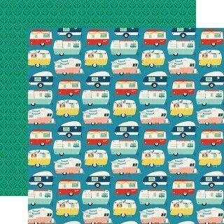 Papel Happy Camper - Good Day Sunshine Collection 30,5x30,5 - Echo Park