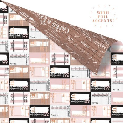 Papel Ticket Collector - Amelia Rose Collection 30,5x30,5