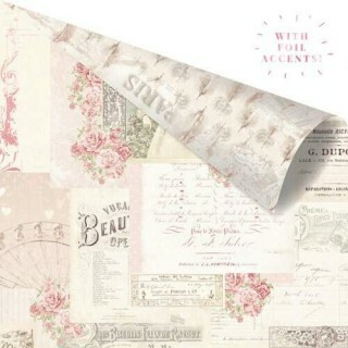 Papel Memories Left in Notes - Love Story Collection 30,5x30,5
