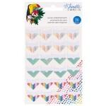 Cartela de Corners Autocolantes - Box of Crayons Collection