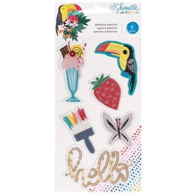 Cartela de Patches Autoadesivos - Box of Crayons Collection