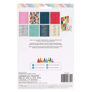 Cartela de Adesivos Alfabeto - Box of Crayons Collection - Alpha Sticker Folder