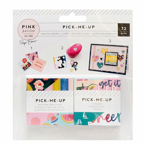 Cartão 2 x 2 - Pick Me Up Collection - 72 Unidades