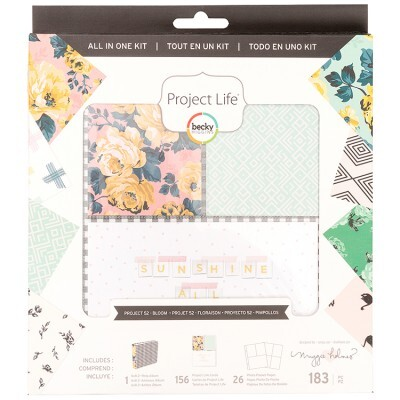 Kit Project Life - Bloom Collection c/ 183 peças