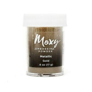 Pó para Emboss - Moxy Embossing Powder - Metallic Gold